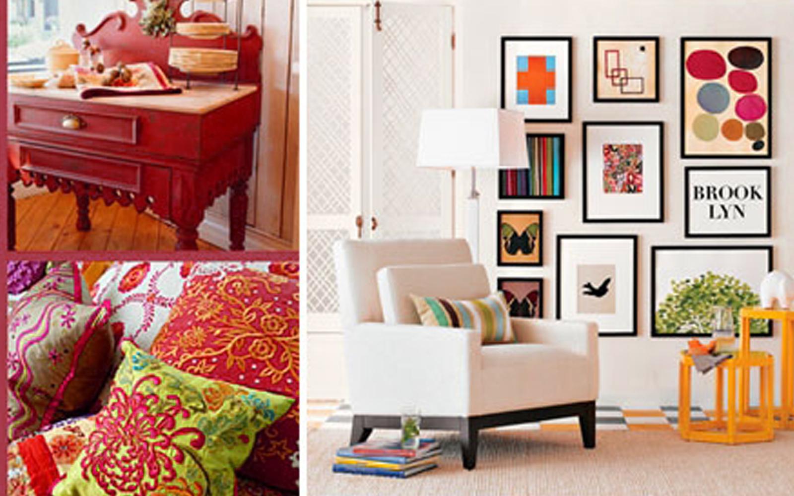 ev dekorasyonunda renklerin kullanimi ve anlamlari